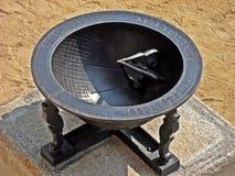 Reloj de sol tradicional de Corea Fotos de archivo