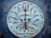 Reloj de Sun Foto de archivo libre de regalías