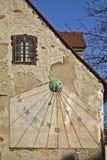 Reloj de Sun en Zagreb foto de archivo libre de regalías