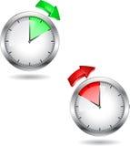 Reloj de tiempo Fotos de archivo libres de regalías