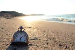 Reloj de tiempo Imagen de archivo libre de regalías