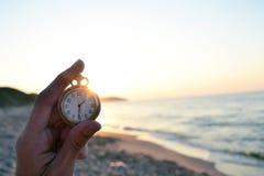 Reloj de tiempo Fotografía de archivo libre de regalías