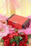Reloj de Tissot en cuanto a regalo de boda fotos de archivo libres de regalías