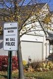 Reloj de vecindad Imagen de archivo