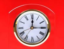 Reloj de vector Fotos de archivo libres de regalías