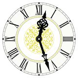 Reloj decorativo Imagenes de archivo