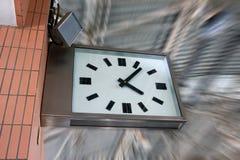 reloj del aeropuerto   Foto de archivo libre de regalías