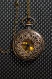Reloj del bolsillo del vintage Imagen de archivo libre de regalías