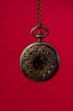Reloj del bolsillo del vintage Fotos de archivo