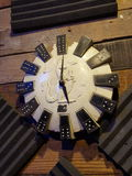 Reloj del canguro del vintage Foto de archivo libre de regalías