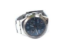 Reloj del cronógrafo aislado encendido Imagen de archivo libre de regalías