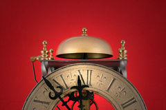 Reloj del día del juicio final Imágenes de archivo libres de regalías