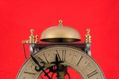 Reloj del día del juicio final Foto de archivo libre de regalías