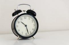 Reloj del despertador Fotografía de archivo