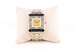 Reloj del diamante de la joyería Fotos de archivo libres de regalías