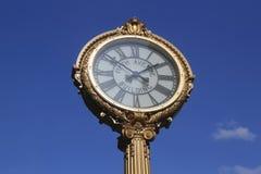 Reloj del edificio de la Quinta Avenida Fotos de archivo libres de regalías