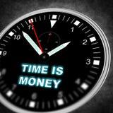 Reloj del ejemplo Imagenes de archivo