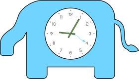 Reloj del elefante Imagen de archivo libre de regalías