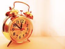 Reloj del fondo Fotografía de archivo