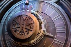 Reloj del gigante de Hogwarts Fotos de archivo