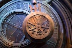 Reloj del gigante de Hogwarts Fotos de archivo libres de regalías