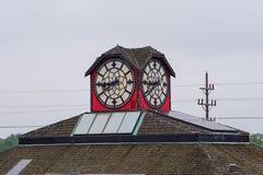 Reloj del hotel de Best Western foto de archivo