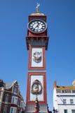 Reloj del jubileo de Weymouth Imagen de archivo libre de regalías