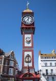 Reloj del jubileo de Weymouth Foto de archivo
