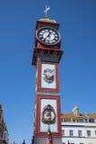Reloj del jubileo de Weymouth Imágenes de archivo libres de regalías