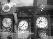 Reloj del marco de tiempo Fotografía de archivo libre de regalías