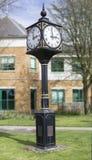 Reloj del milenio de la señal del extremo de Bourne Fotografía de archivo