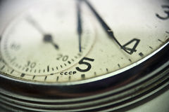 Reloj del reloj Fotografía de archivo