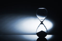 Reloj del reloj de arena Foto de archivo libre de regalías