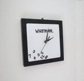 Reloj del retiro imagenes de archivo