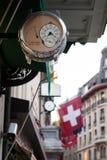 Reloj del suizo Imagen de archivo