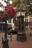 Reloj del vapor en Vancouver, Canadá Imágenes de archivo libres de regalías