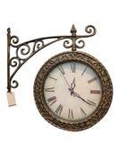 Reloj del viejo estilo Imagenes de archivo