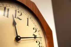 Reloj del vintage Imagen de archivo