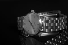 Reloj del vintage imagen de archivo libre de regalías