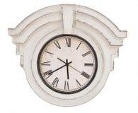 Reloj del vintage aislado imagen de archivo libre de regalías