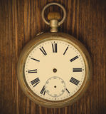 Reloj del vintage sin manos Imagenes de archivo