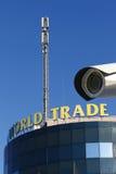 Reloj del World Trade Center Imagenes de archivo
