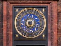 Reloj del zodiaco fotografía de archivo libre de regalías