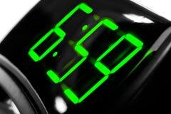 Reloj digital de la visualización imágenes de archivo libres de regalías