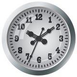 Reloj digital montado en la pared Fotos de archivo