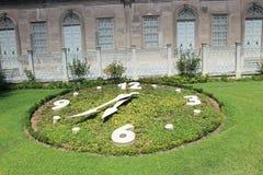 Reloj Dolmabahce Foto de archivo libre de regalías