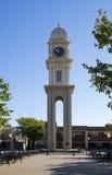 Reloj Dubuque Iowa de la ciudad Fotos de archivo libres de regalías