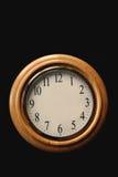 Reloj en blanco Imagen de archivo