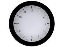 Reloj en blanco (sin las agujas) Fotografía de archivo libre de regalías