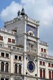 Reloj en el cuadrado de San Marco Foto de archivo
